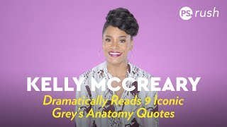 Dr. Maggie Pierce Dramatically Reads Iconic Grey's Anatomy Quotes by POPSUGAR Girls' Guide