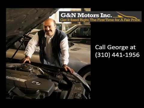 Mercedes Benz Repair Los Angeles | (310) 441-1956 G&N Mercedes Benz Repair Shop