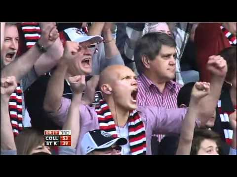 AFL - Coll v St K: Match Summary