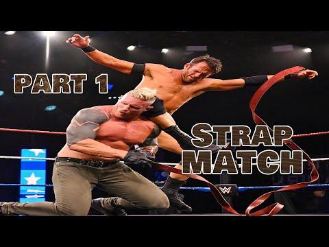 Dexter Lumis vs Roderick Strong NXT's first-ever Strap Match part 1/2