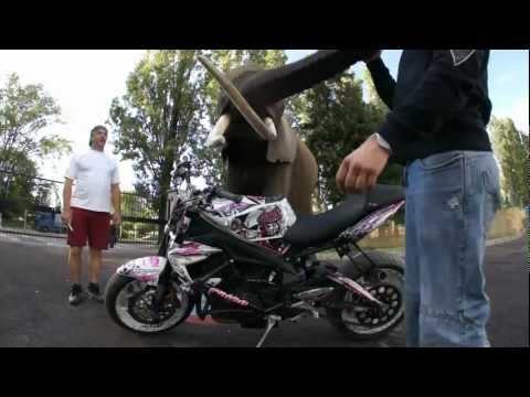 video moto au Maroc