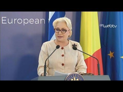 Συγχαρητήρια στην Ελλάδα για την έξοδο από τα Μνημόνια έδωσε η πρωθυπουργός της Ρουμανίας