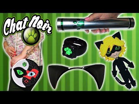 ♥ 5 Manualidades Paso a Paso de Chat Noir/Cat Noir (Miraculous Ladybug) Compilation ♥