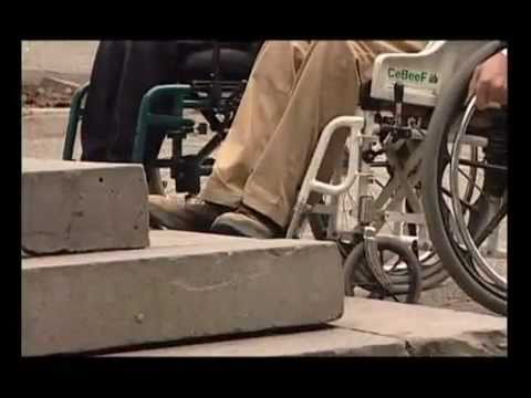 Image of the video: Voters with disabilities