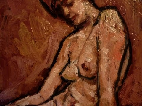 Nude Woman – part 2 – Painting Demo  – by Kadar A  Tibor