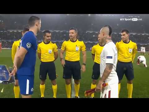 Chelsea VS Roma (3-3) Highlight UEFA 19-Oct-2017
