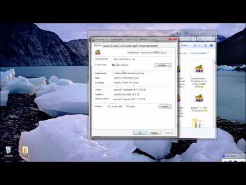 comment retrouver un fichier zip