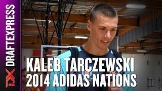 2014 Kaleb Tarczewski Interview - DraftExpress - Adidas Nations