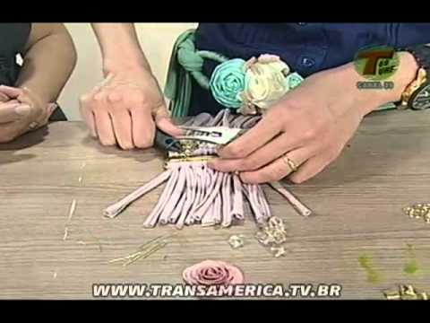 Tv Transamérica - Pulseira de viscolycra