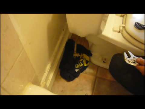 Water Hammer (ing the brain?) How to fix your toilet and stop that ANNOYING