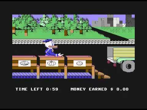 Image of 100 Commodore C64 games in 10 minutes (video)