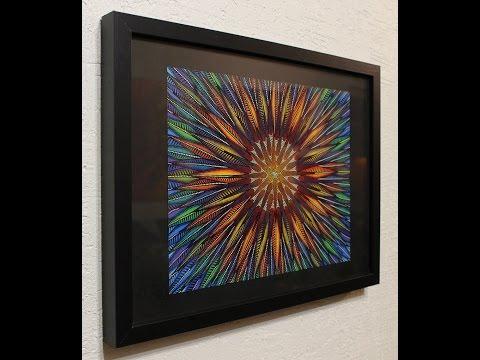 Aperçu vidéo du tableau moderne : Tournesol.