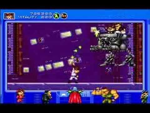 preview-Gunstar Heroes Game Review (Gen/Wii)