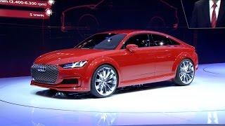 ► Audi TT Sportback concept - World Premiere