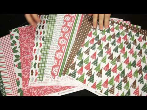 American Crafts – Welcome Christmas Scrapbook Collection