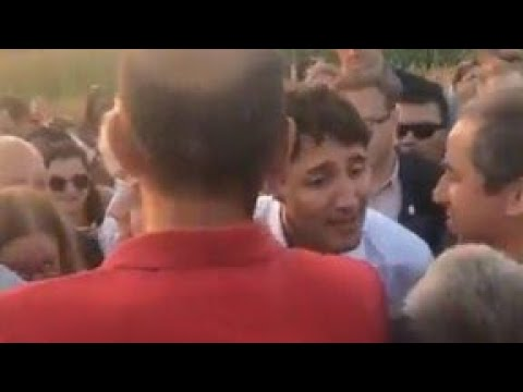 PM Justin Trudeau  Liberal Goons Shakedown Quebecois Woman as Racist  The Essential Trudeau