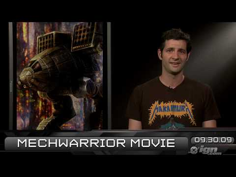 preview-IGN Daily Fix, 9-30: Uncharted 2 Demo & A MechWarrior Movie (IGN)