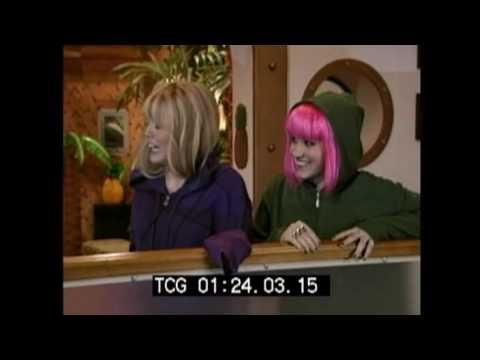 Dietro le quinte - I Maghi Sul Ponte Di Comando Con Hannah Montana