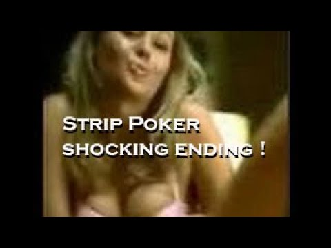 Sexy Naked Girl ,Strip Poker Last Hand