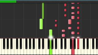 David Guetta - The whisperer ft Sia - piano tutorial - midi - sheet music