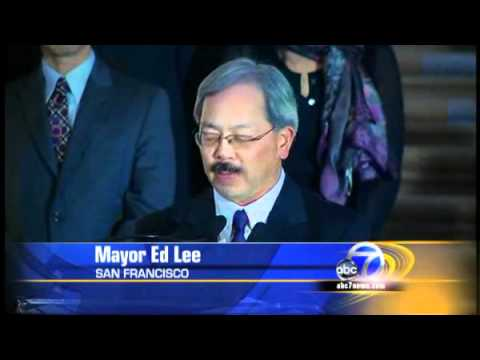 Ed Lee is the first Asian American Mayor of San Francisco