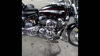 10. D.I.Y motorcycle light install. Yamaha 650 V Star