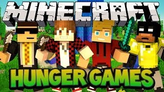Minecraft Nexus Hunger Games - Power Move City w/Mitch, Ryan and Bodil