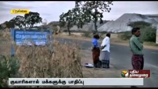 People put to great hardships due to the existence of quarries in Tirunelveli