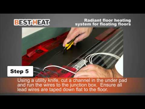 Best-Heat Electric Heating System for Floating Floors
