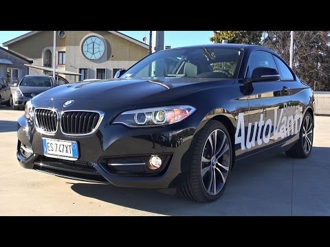 2014 BMW 2 Series Coupe Sport Line Start Up and in Depth Look