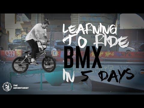 Riding BMX is F@#%ing HARD!   The Adventurist   Episode 3