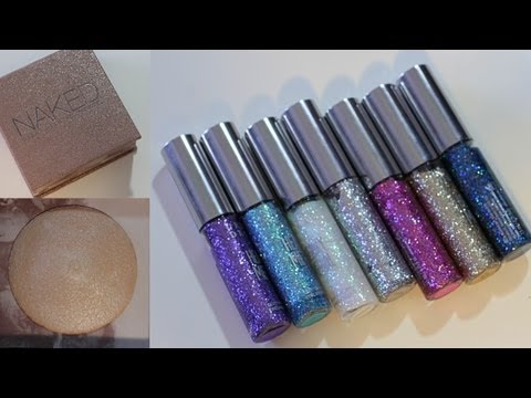 SHOW & TELL: URBAN DECAY GLITTER & SHIMMER