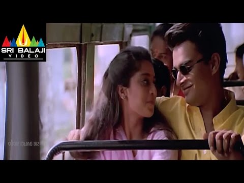 Sakhi Movie Shanti and Madhavan Bus scene || Madhavan, Shalini