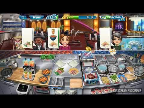 Cooking Fever #Hell's Kitchen #Level 34