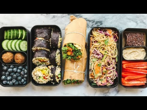 On the Go Vegan Lunch Ideas for School or Work (Bento Box) 🍱