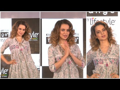 Kangana Ranaut Walks On Ramp For New Collection Of Melange by Lifestyle