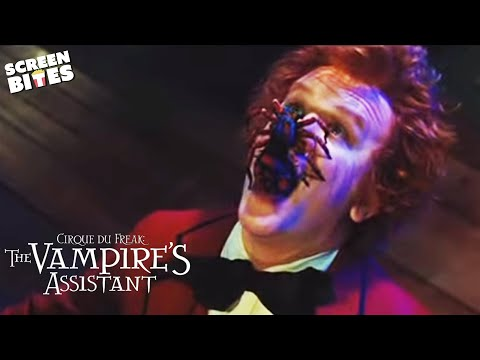 Cirque Du Freak The Vampires Assistant: Crepsley's (John C. Reilly) creepy spider