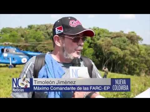 Líderes de las FARC llegan a Colombia para asistir en la X Conferencia Guerrillera