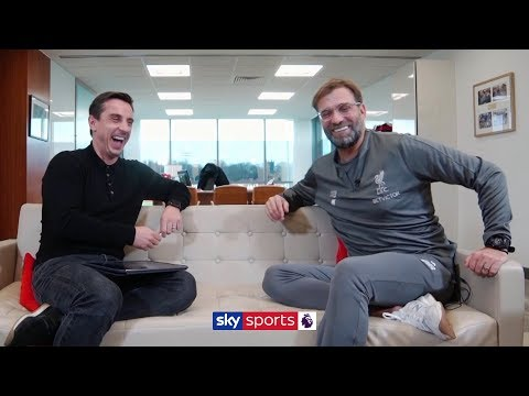Jurgen Klopp opens up to Gary Neville on Liverpool's Premier League title challenge