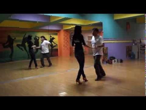 SALSA - Advanced L.A. cross body style, salsa class