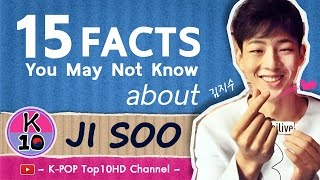 Video 😍 15 FACTS You are may not know about JI SOO (김지수/志洙) MP3, 3GP, MP4, WEBM, AVI, FLV Desember 2018
