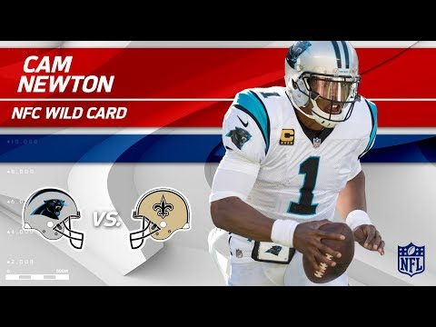 Video: Cam Newton's 386 Total Yards & 2 TDs vs. New Orleans! | Panthers vs. Saints | Wild Card Player HLs