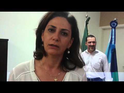 Depoimento da prefeita de Rosana sobre a atuação do deputado Vinicius Carvalho