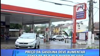 Preço da gasolina deve aumentar cerca de R$ 0,40 a partir de hoje. #JornaldaPampa