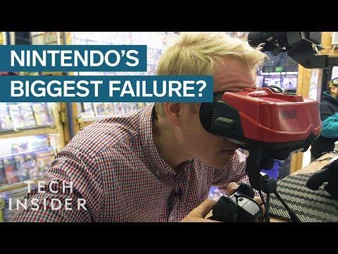 The Epic Failure of Nintendo's Virtual Boy