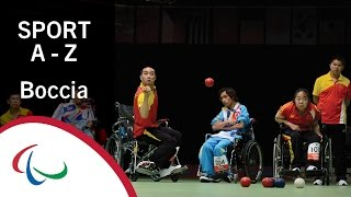 Find out all you need to know about the Paralympic sport of boccia, including the history, rules, classification and equipment.