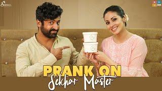 Prank on Sekhar Master || Actress Sadaa ||