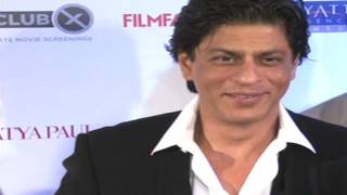 Shahrukh Khan At The Red Carpet Of Filmfare Awards 2012