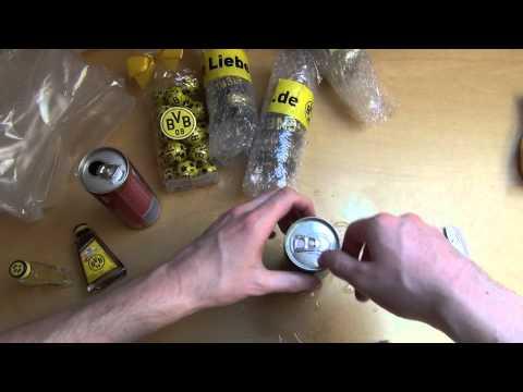 BVB Unboxing Borussia Dortmund Fanshop Adrenalin Energy Drink