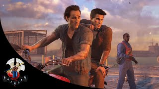 Uncharted 4 City Motorcycle Chase